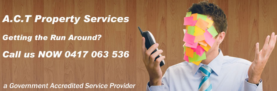 Getting the Run Around [call ACT Property Servcies]